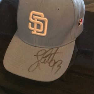 Other - Signed Padre Hat #13 Nick Schultz